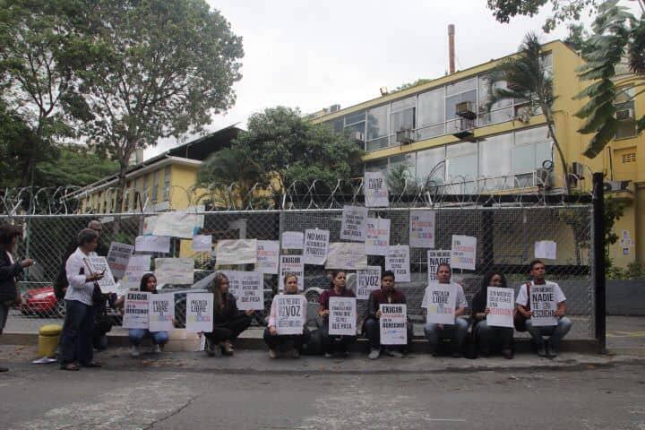 Protesta morgue