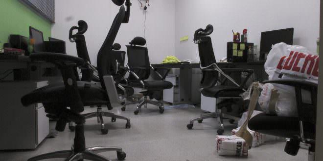 Sujetos armados robaron equipos del medio Crónica Uno