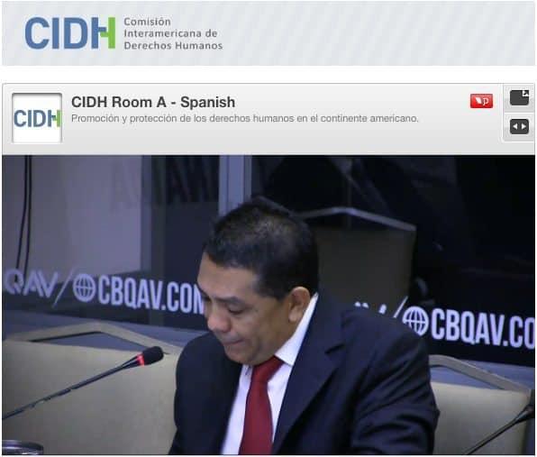 William Castillo, ex presidente de Conatel y representante del Estado en la CIDH. Captura.