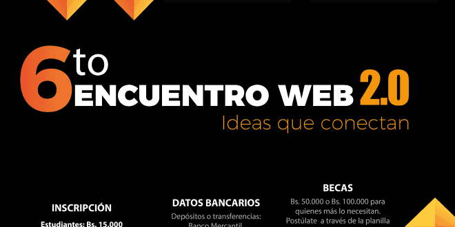 Inscripciones abiertas: 6to Encuentro Web 2.0
