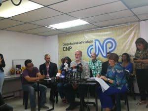 Rueda de prensa CNP