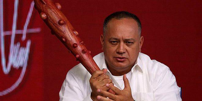 Diosdado Cabello hostiga a periodistas por el caso de Óscar Pérez