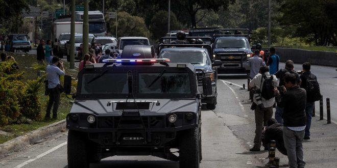 PNB impide cobertura periodística en el operativo para capturar a Óscar Pérez