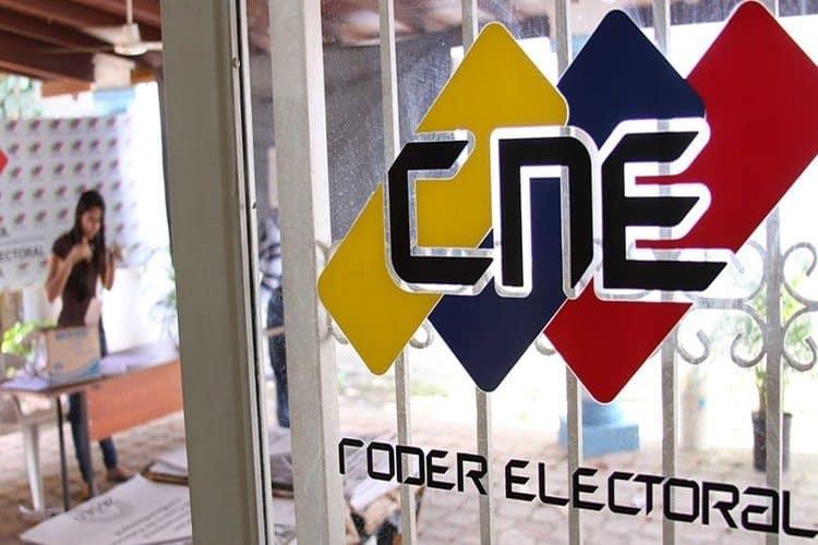 CNE elecciones en Venezuela