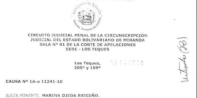 Vulneran derecho a la defensa de Pedro Jaimes Criollo