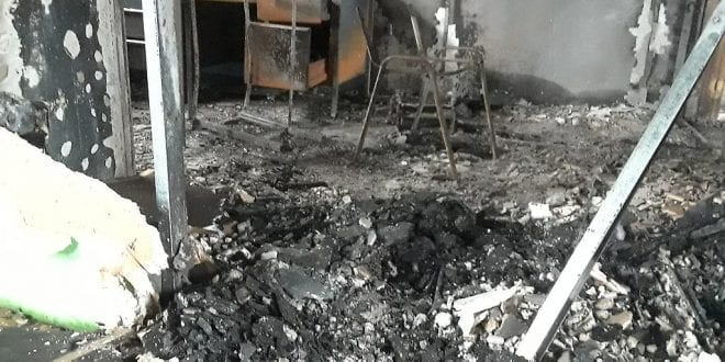 Roban e incendian canal de televisión en Barlovento