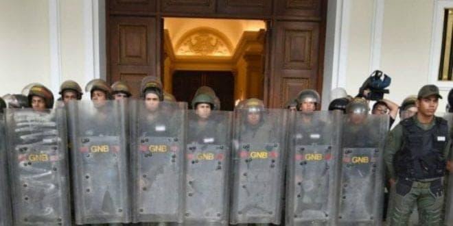 GNB impide nuevamente el acceso de los periodistas a la AN