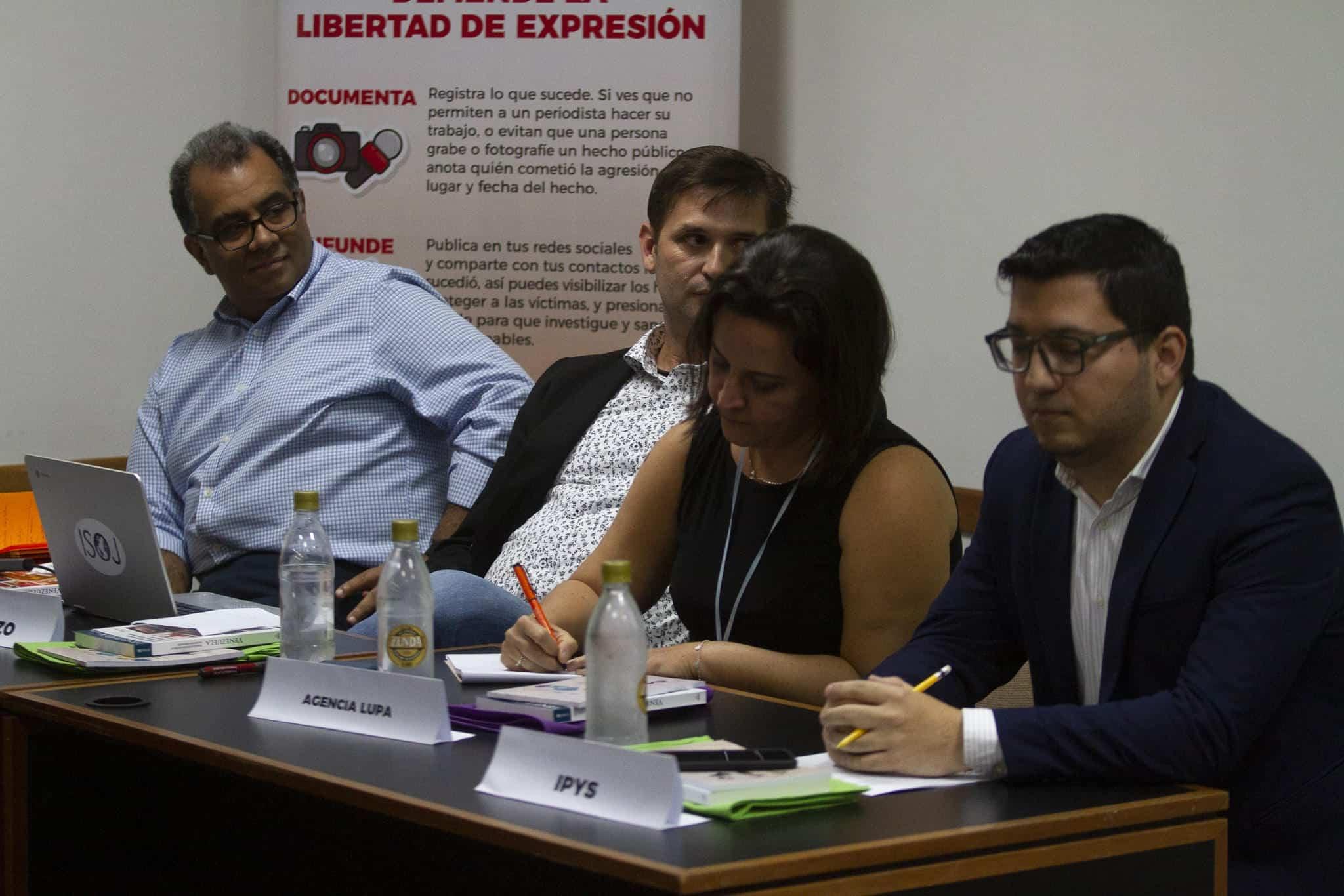 Alayón, Batiz, Tardáguila y Pabón en Medios y Libertad 2019