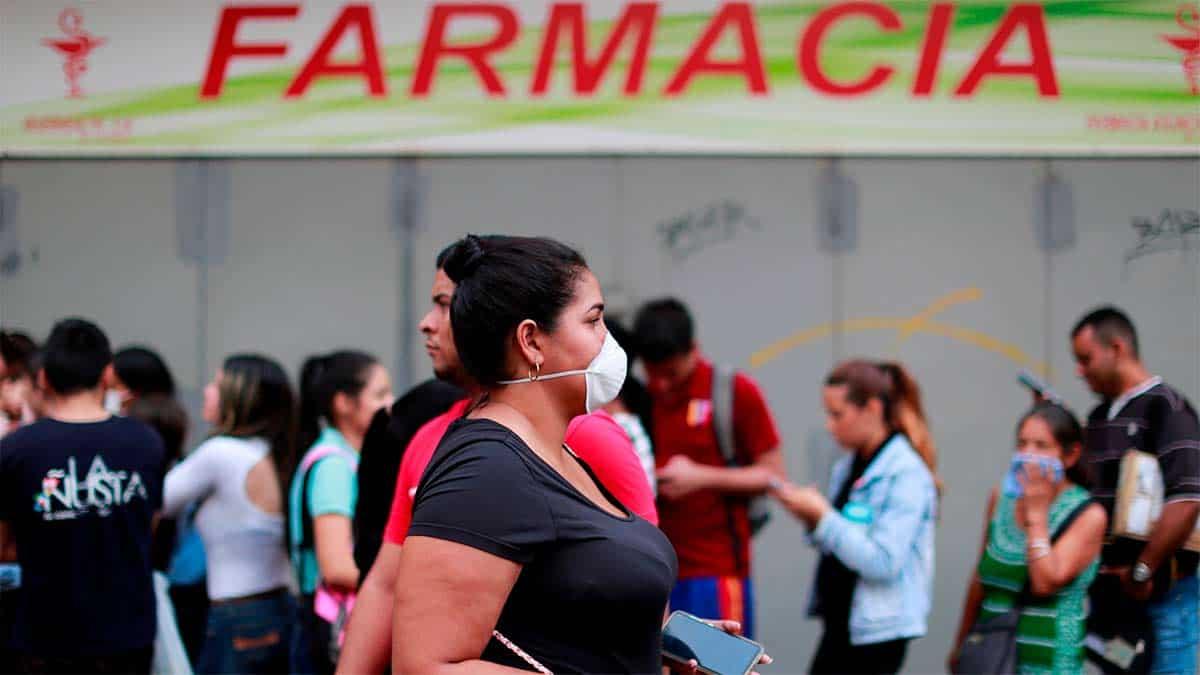 Primera día de cuarentena por el COVID-19 en Caracas