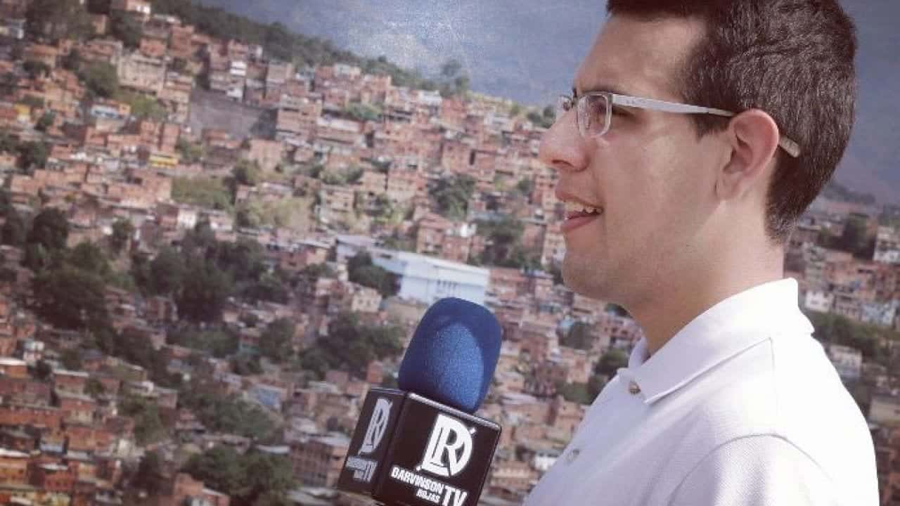 Periodista Darvinson Rojas