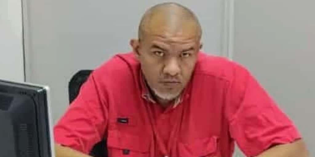 Dario Salcedo está detenido por criticar el precio de una bolsa alimentos
