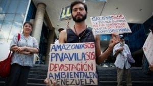 El estado venezolano no rinde cuenta de sus políticas ambientales