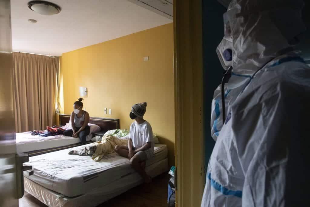 julio Hotel en Venezuela COVID 19