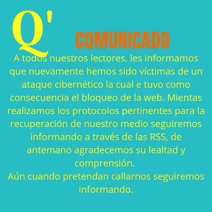 Atacan sitio web del medio digital Qué pasa en Venezuela
